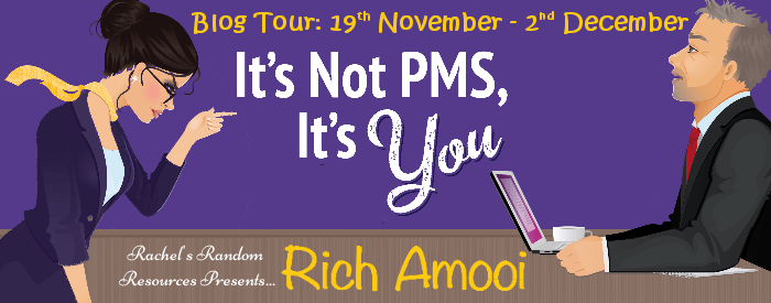Its not PMS, its you Blog Tour image