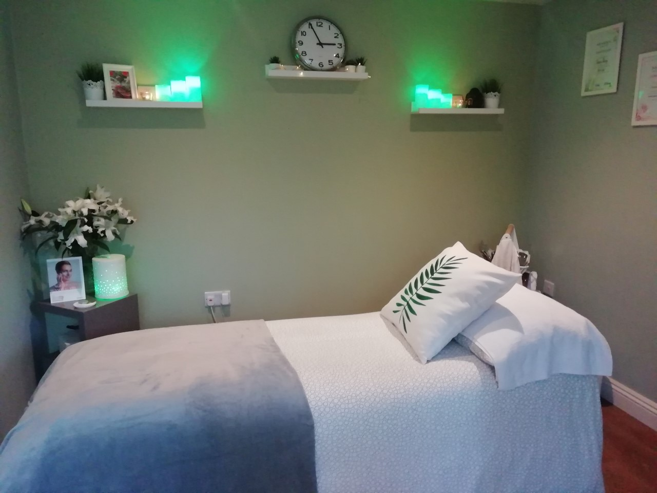Treatment Bed at Beauty at the Barn