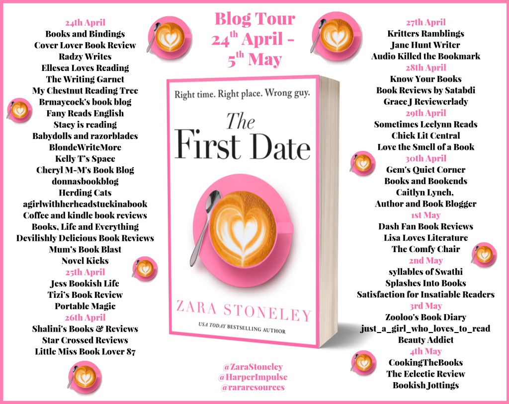 The First Date Blog Tour Full Banner