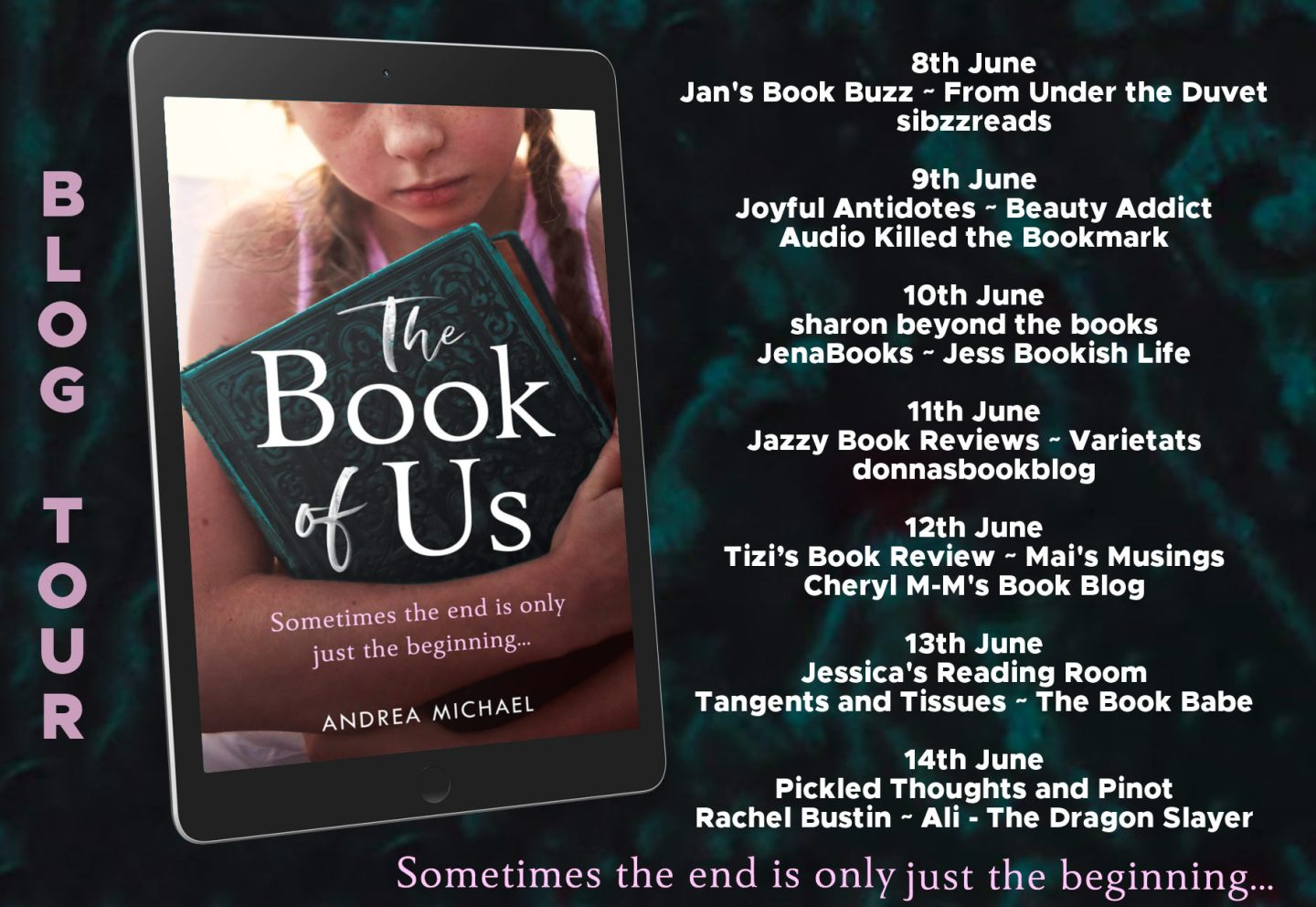 The Book of Us Full Tour Banner