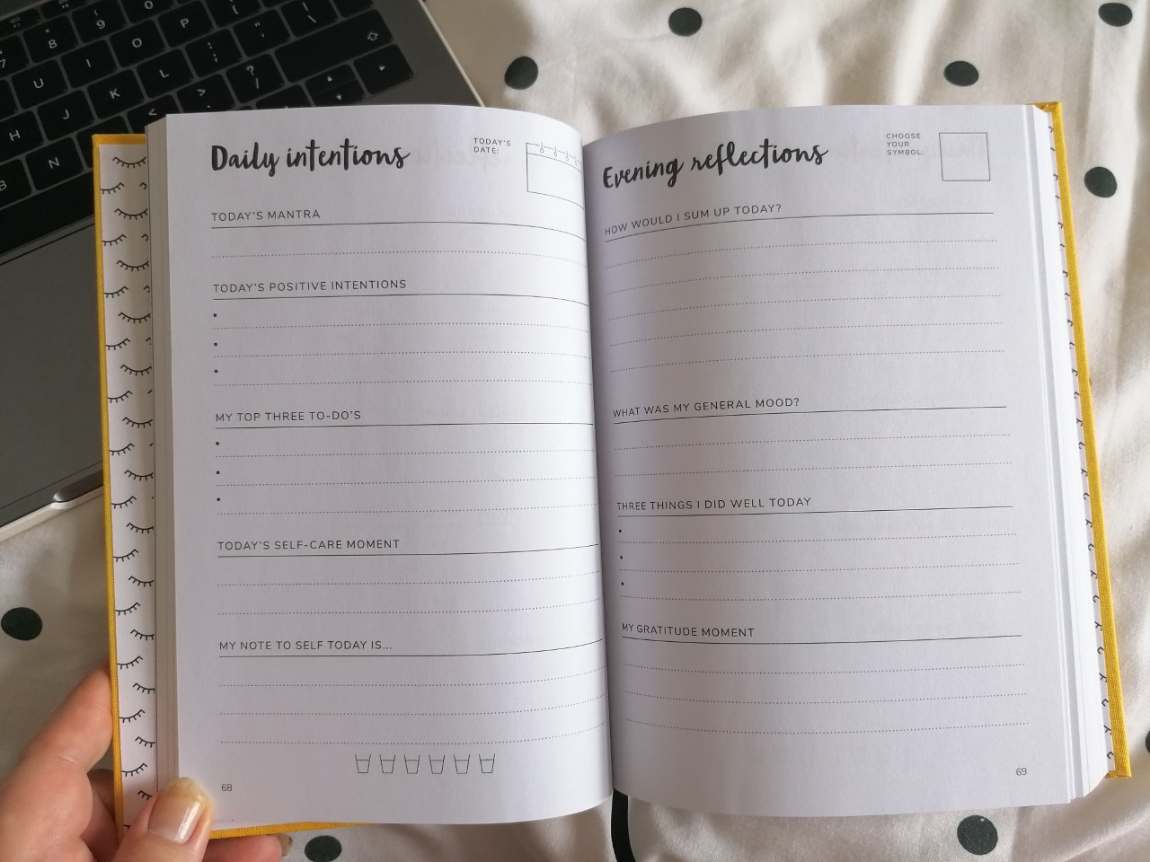 The Positive Planner Daily Tracking Pages