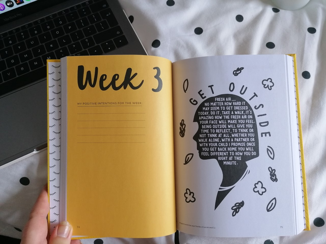 The Positive Planner Weekly Page