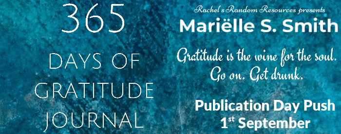 365 Days of gratitude Blog Tour Banner