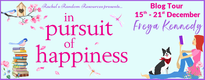 In Pursuit of Happiness Blog Tour Banner