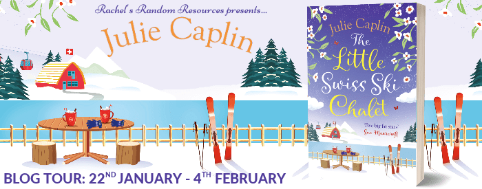 The Little Swiss Ski Chalet Blog Tour Banner