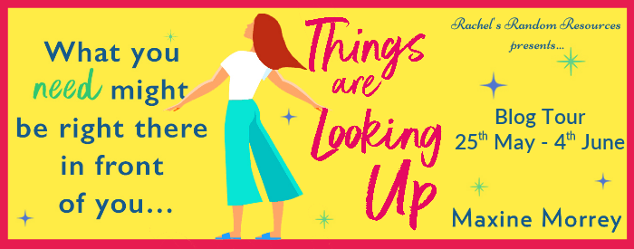 Things are Looking Up Blog Tour Banner