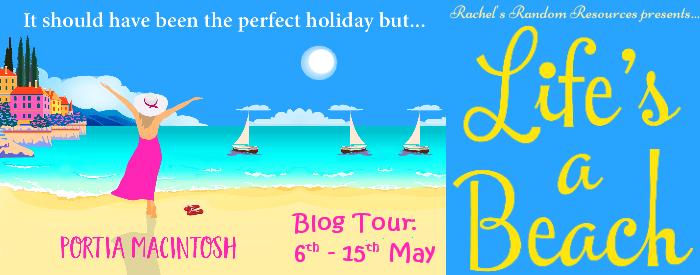Life's a Beach Blog Tour Banner