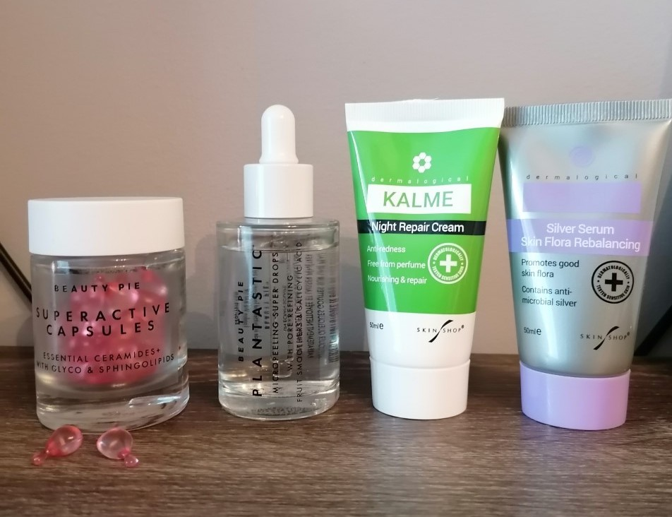 my favourite beauty products for this month