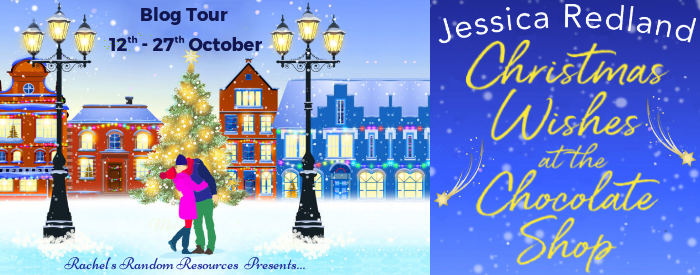 Christmas wishes at the chocolate shop blog banner