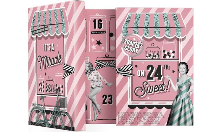 Soap & Glory advent calendar 2019
