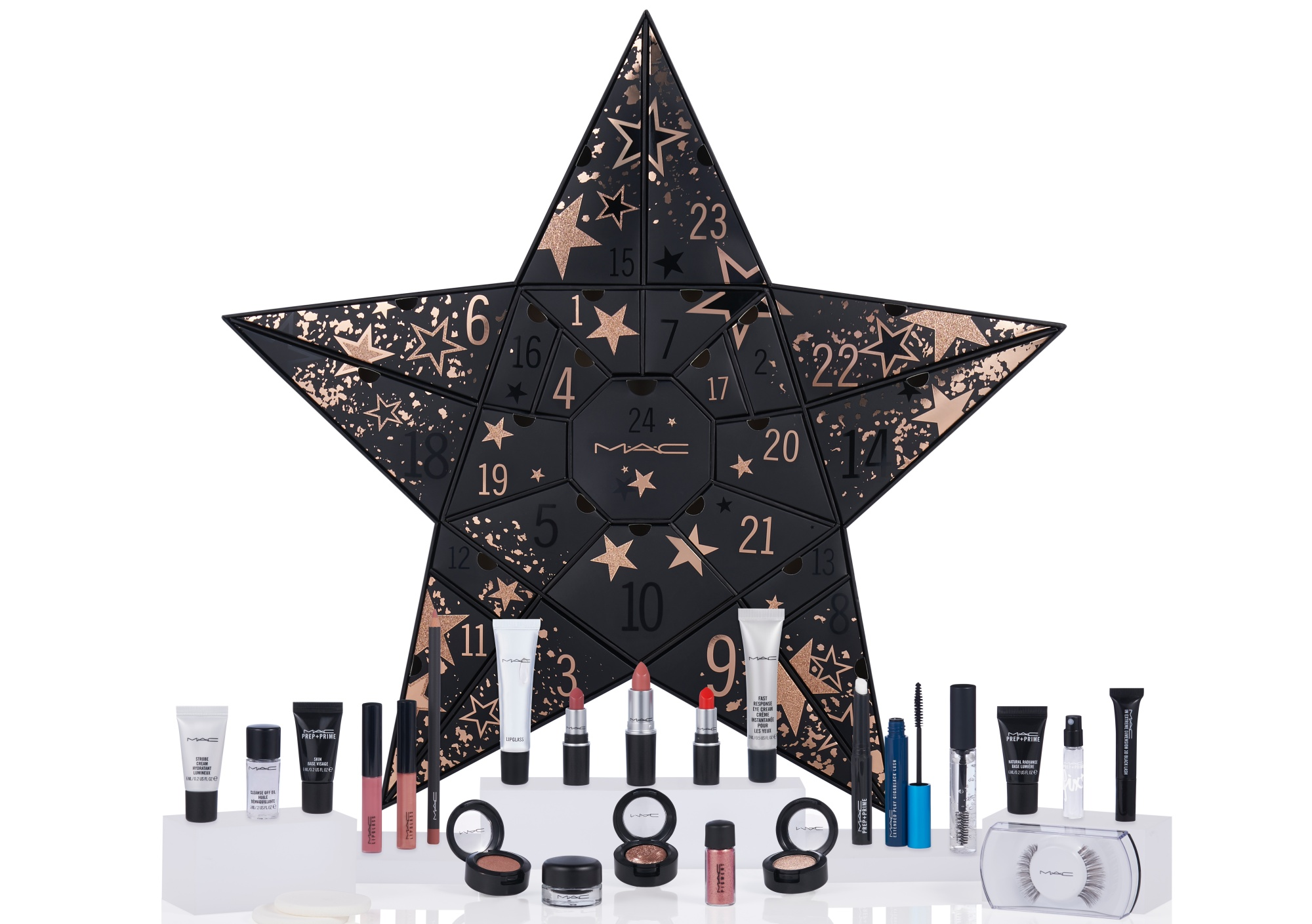 MAC Cosmetics Beauty Advent Calendar 2019 , Contents Revelaed