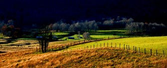 Evening in Blue Grass Valley Take 3