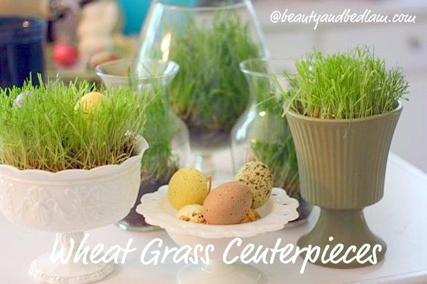inexpensive table centerpieces1 Ever So Fun Inexpensive Table Centerpieces (perfect for Easter)
