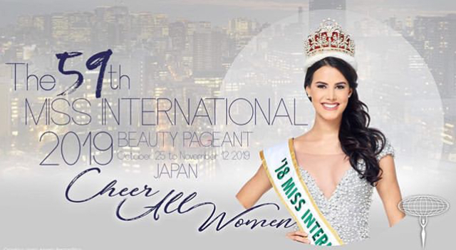 Miss International 2019 Confirmed Contestants and Upcoming National