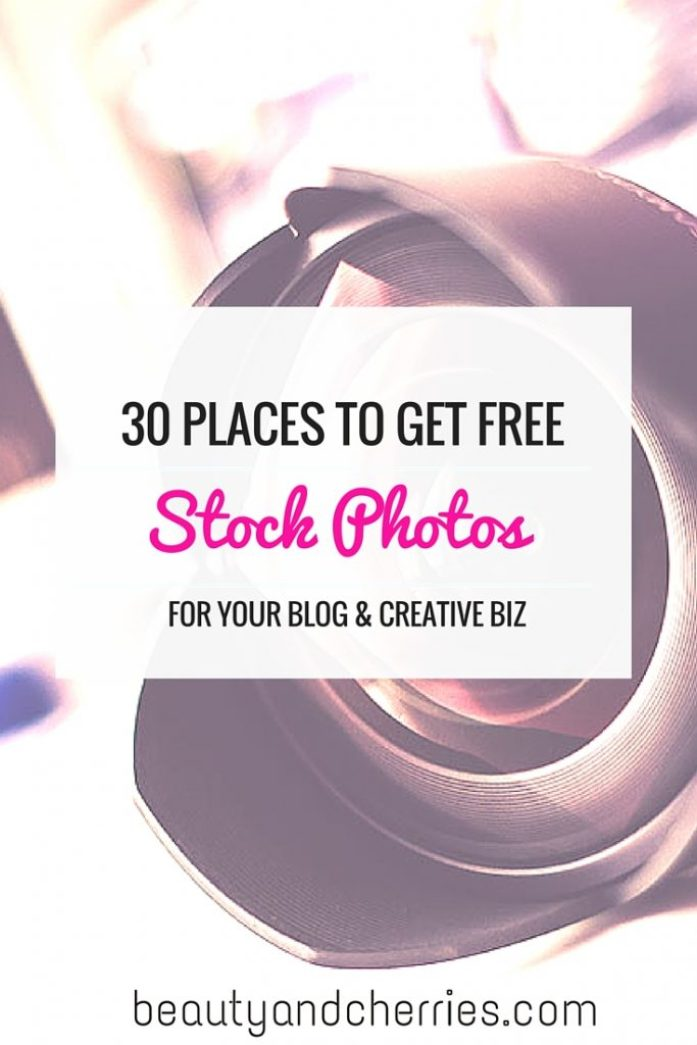 30 places to get stock photos