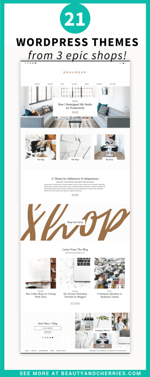 21 Bestselling WordPress Themes for Creatives