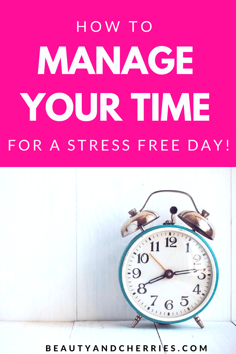 If you feel stressed out with so many things do it's time to manage your time! These actionable, tried and tested technique is what I use everyday to prevent getting overwhelmed and get things done.