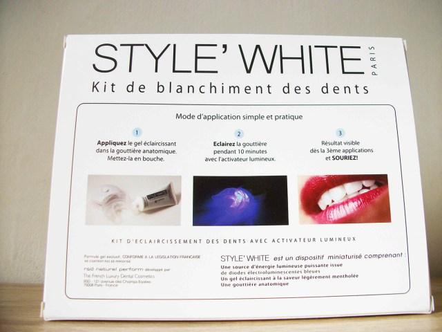 Kit de blanchiment pour les dents : Style white