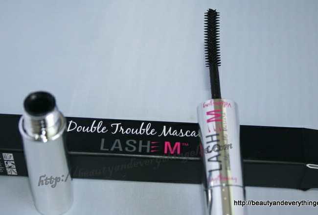 Lashem double trouble mascara : lengthening