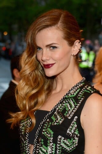 Celebrity Hair Stylist, Patrick Melville Styles Brooklyn Decker for the 2013 MET Ball