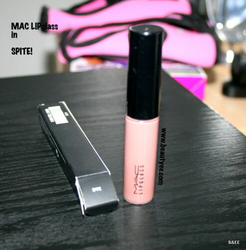 MAC LIPGLASS IN SPITE