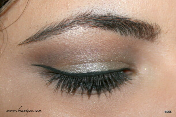 EOTD using Chanel Illusion d'ombre Epatant