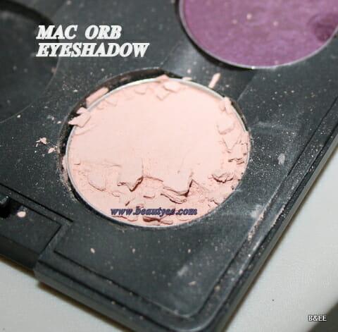 MAC ORB eyeshadow review