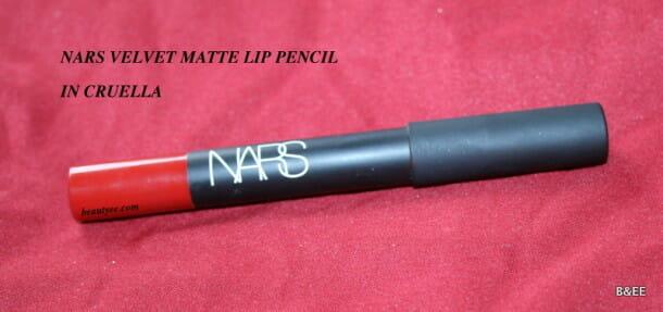 NARS  Velvet Matte Lip Pencil in Cruella