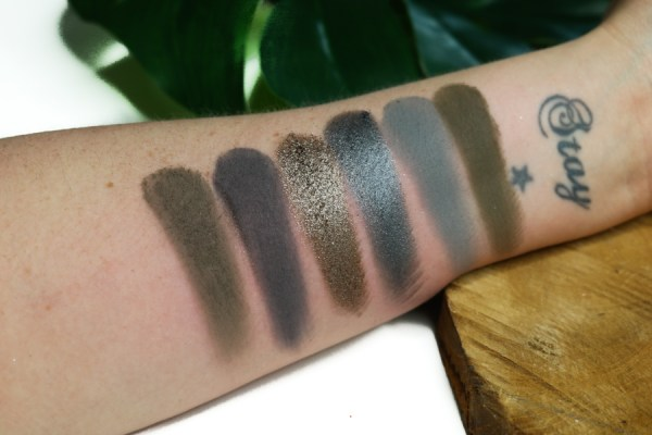 Cremated palette