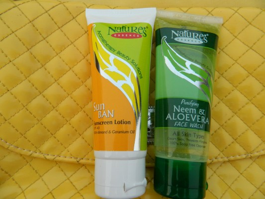 Nature's Essence Sunscreen Lotion SPF 40 Review