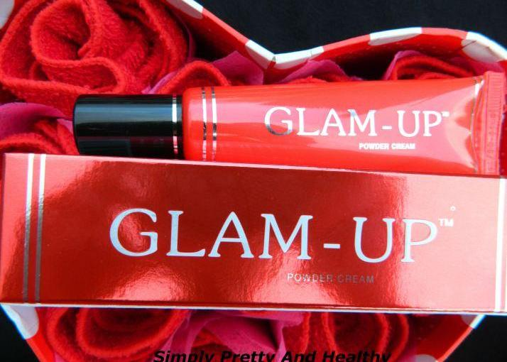 Glam-Up Powder Cream Review, Swatches