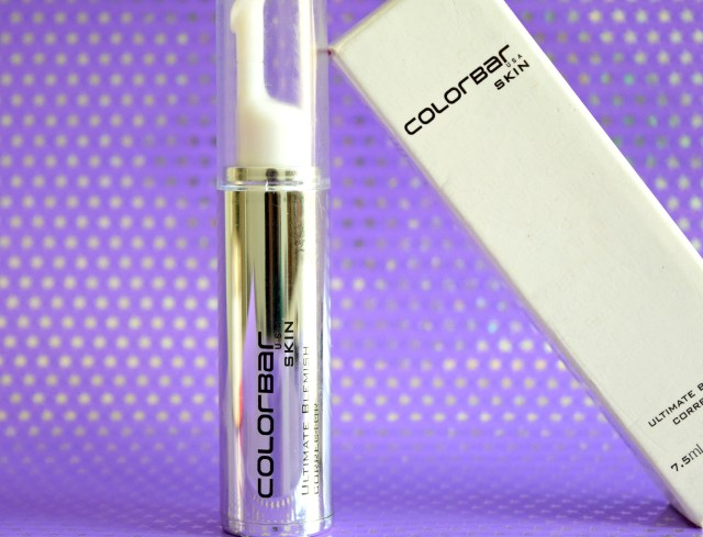 Colorbar Ultimate Blemish Corrector Review