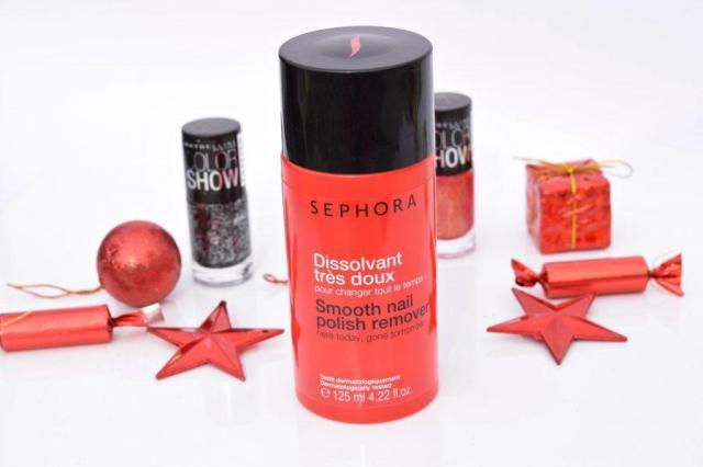Sephora Smooth Nail Polish Remover Review