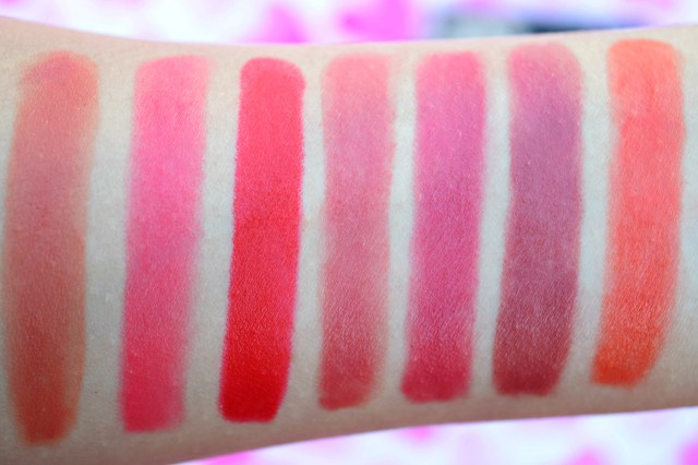 Streetwear Color Rich Ultra Moist Lipstick Swatches