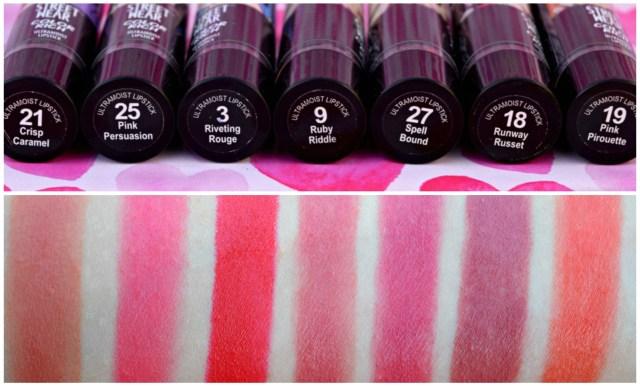 Streetwear Color Rich Ultra Moist Lipsticks