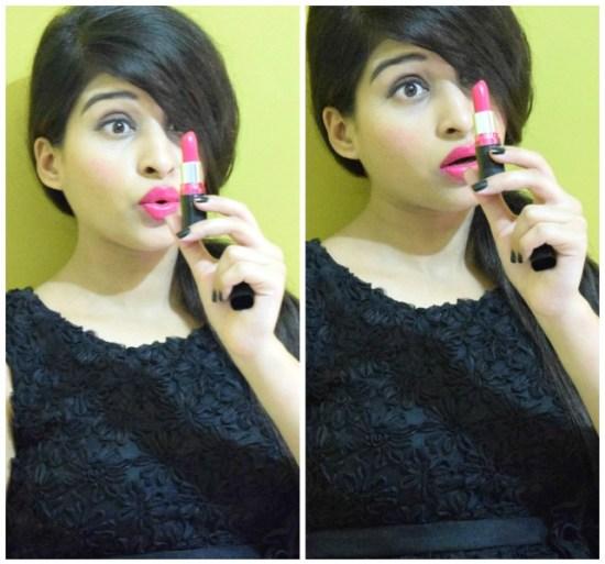 Maybelline Colorshow Lipstick Fuchsia Flare