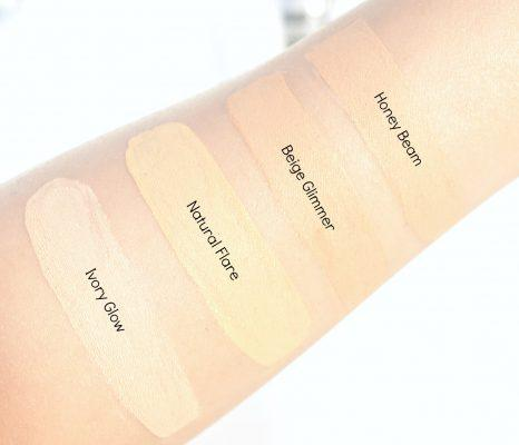 Lakme Absolute Illuminating Foundation Swatches