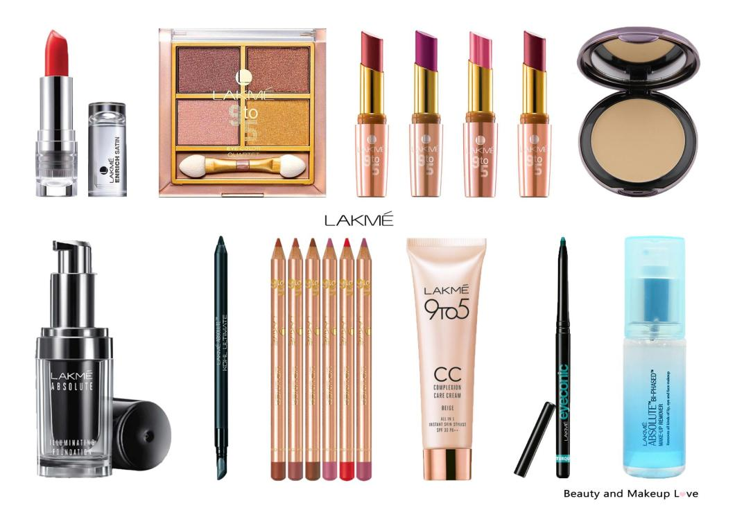 Top 10 Lakme Makeup Products In India Mini Reviews S