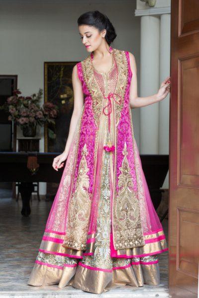 Jacket Bridal Lehenga