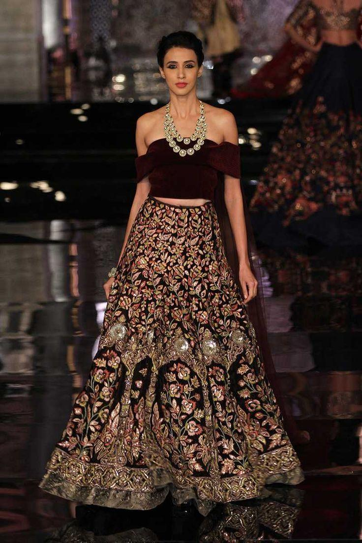 New Modern Lehenga Off Shoulder Blouse Models 2017 Latest Designer Blouse Designs For Lehenga Saree Fashionglint Discover The Latest Best Selling Shop Women S Shirts High Quality Blouses