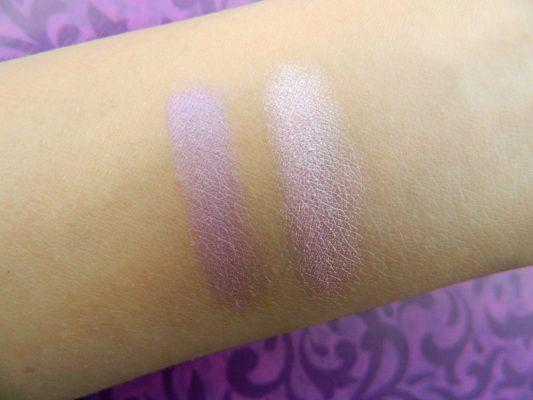 Avon Simply Pretty Blendable Eyeshadow Duo  Swatch