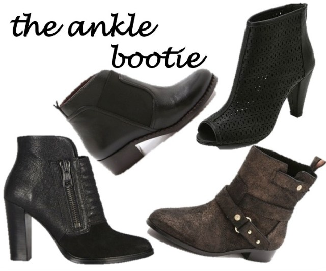the ankle bootie