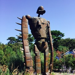 Robot from Lucida castles in the Sky, Studio Ghibli Museum, Mikata, Tokyo