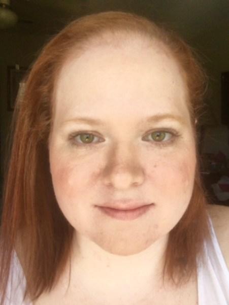 no makeup makeup look