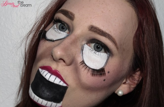 Halloween-Make Up Scary Doll [Look] | Beauty and the beam