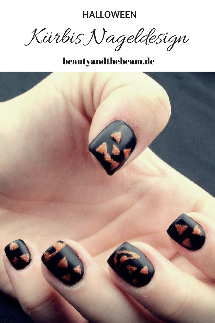 Blogparade] Kürbis Nageldesign | Beauty and the beam