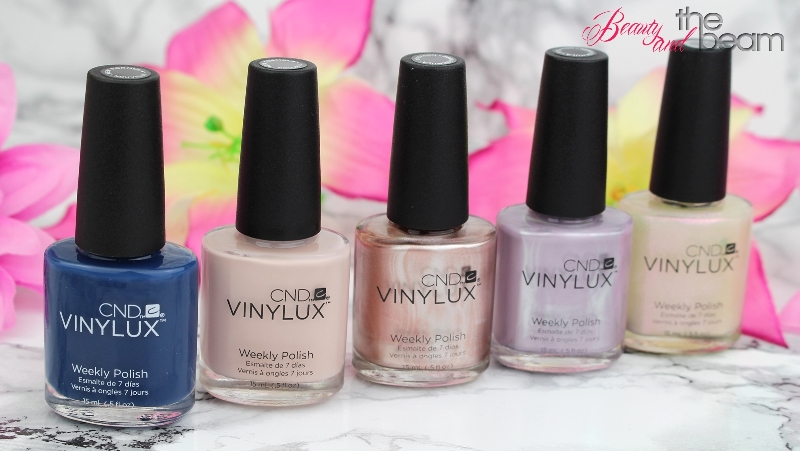 [Review] CND Vinylux Glacial Illusion Collection
