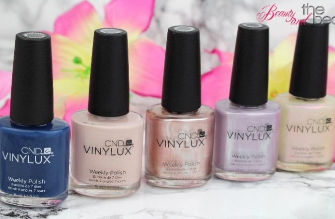 [Review] CND Vinylux Glacial Illusion Collection | Beauty and the beam