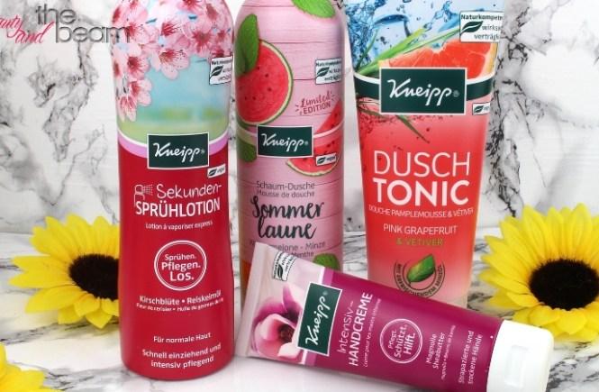 [Werbung] Kneipp Frühjahrs-Neuheiten | Beauty and the beam