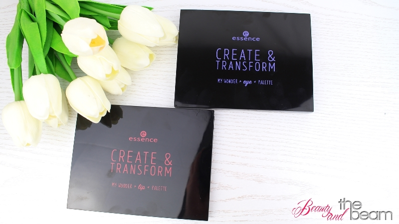 [Review] Essence create & transform Paletten
